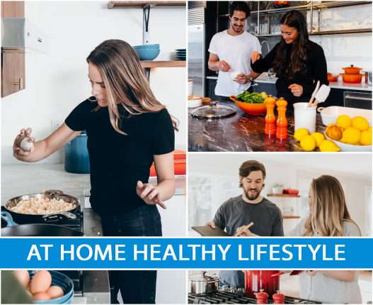 AT HOME HEALTHY LIFESTYLE