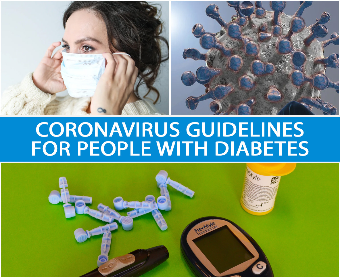 CORONAVIRUS GUIDELINES FOR PEOPLE WITH DIABETES
