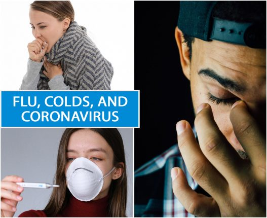 FLU, COLDS, AND CORONAVIRUS